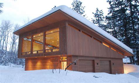 modern garage plans modern garage with shed roof seattle modern sheds cabin