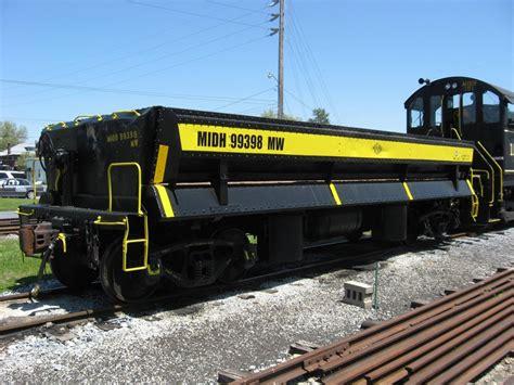 Car Dump by Restored Side Dump Mw Car Middletown Hummelstown Railroad