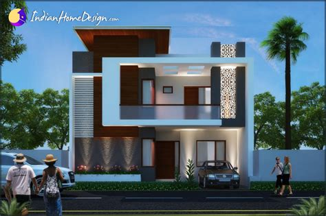 plan home design modern contemporary indian home design by unique