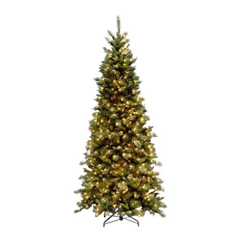 9 ft slim tree home depot national tree company 9 ft slim fir artificial