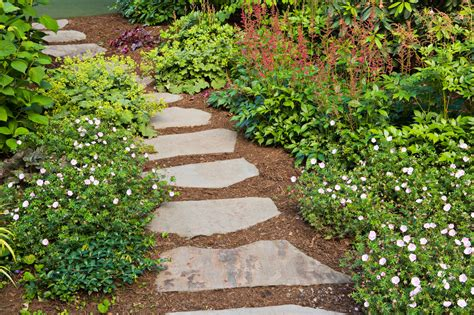 pathway designs garden pathway design ideas with some stones