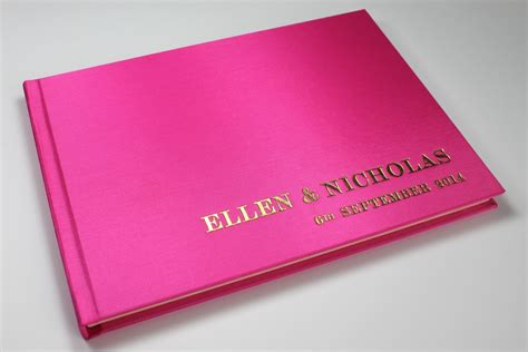 guest book with pictures personalised wedding guest books handmade in the uk