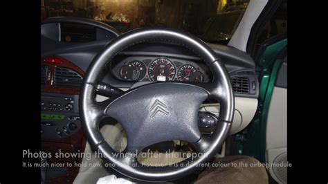 Citroen Steering Wheel by Citroen C5 Steering Wheel Removal