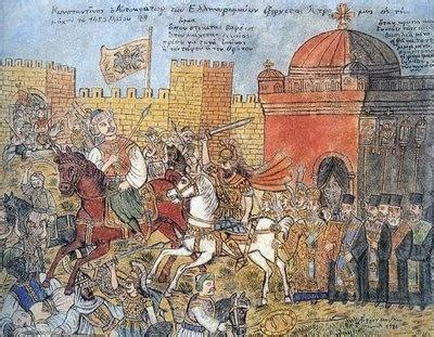 ottomans conquered constantinople what caused mehmed ii to lead the ottomans to conquer