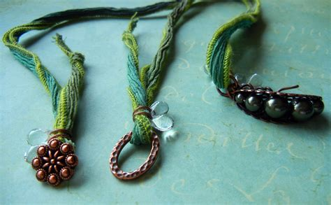 how to make ribbon jewelry silk ribbon necklaces how to finish the ends rings and