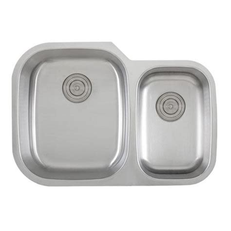 40 kitchen sink 30 inch 18 stainless steel undermount 60 40