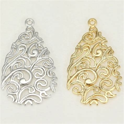 filigree for jewelry filigree metal connector for earrings necklace