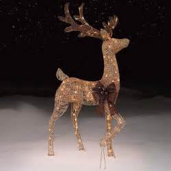 lighted reindeer decorations 28 best outdoor lighted reindeer decorations