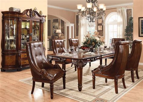 acme furniture dining room set acme furniture winfred formal dining room collection by