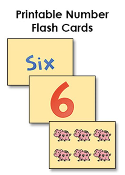 how to make printable flash cards number flash cards printable 1 10 free preschool printables