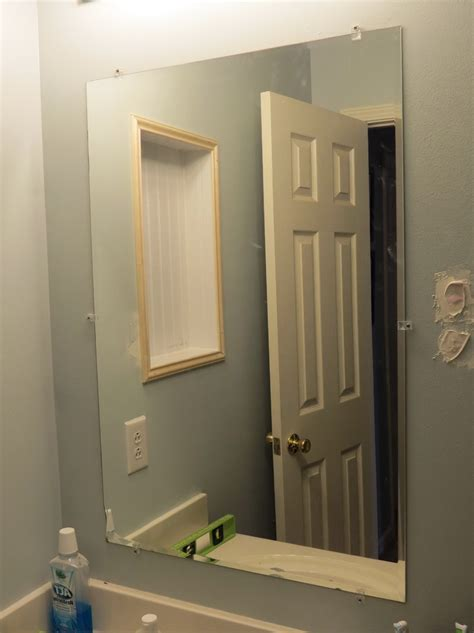 framing a bathroom mirror framing a bathroom mirror with metal home design ideas