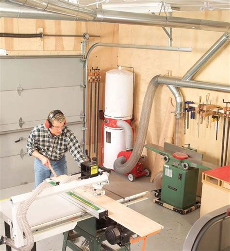 woodworking vacuum system 25 best ideas about dust collection systems on