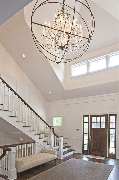 foyer chandelier height 25 best ideas about foyer chandelier on foyer