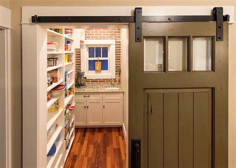 kitchen barn doors 25 trendy kitchens that unleash the of sliding barn