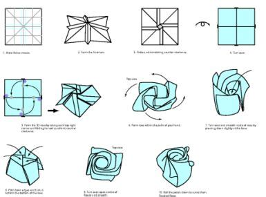 how to make an origami flower easy 49 best images about origami on hexagon