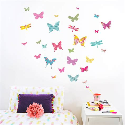 Quotes For Bedroom Wall shanghai butterfly wall stickers by koko kids