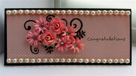 how to make paper flowers for greeting cards uts hobby time handmade congratulations greeting