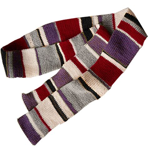 how to knit a striped scarf handknitted striped scarf by otto s day
