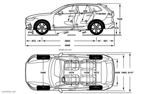 Volvo Xc60 Dimensions by Volvo Xc60 2 2017 Carissime L Info Automobile