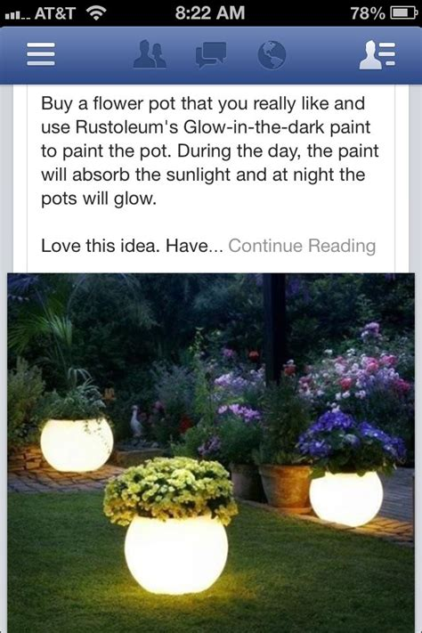 glow in the paint outdoor pin by kuebler on yard