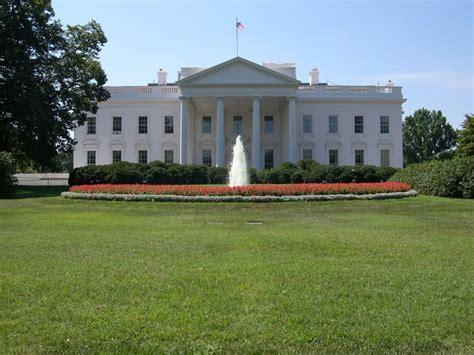 la maison blanche vue de photo de washington de la maison blanche aux terres ocres