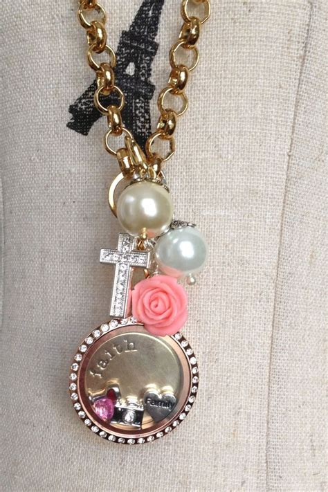 origami owl large gold locket with crystals 17 best images about origami owl living lockets on