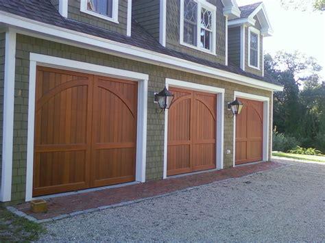 garage door to house top 10 types of carriage garage doors ward log homes