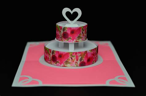 how to make birthday cake pop up card flower wedding cake pop up card creative pop up cards