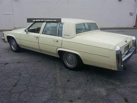 1984 Cadillac Sedan by 1984 Cadillac Sedan De Ville