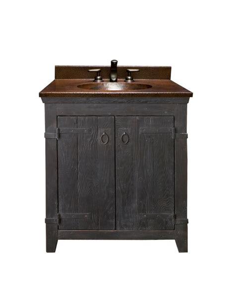 30 bathroom vanity with sink 30 inch single sink bath vanity with copper top uvntvnb30830