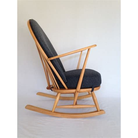 ercol dining chair cushions ercol rocking chair 1960 s fully restored with new cushions