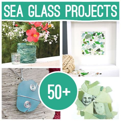 glass for craft projects 50 plus diy sea glass crafts and projects