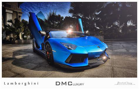 Matte blue Aventador by DMC in Malaysia.dmc malaysia matte