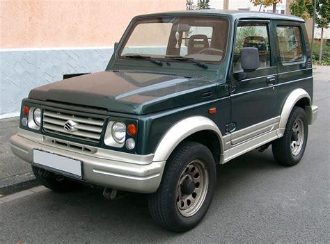 Suzuki Samurai by Fichier Suzuki Samurai Front 20071025 Jpg Wikip 233 Dia