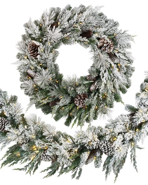 flocked wreath collection flocked wreath pictures best