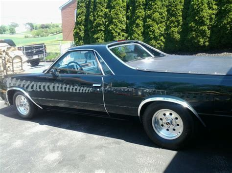 Grand National Motor For Sale by Beautiful 1982 Emerald Green El Camino With 1986 Grand
