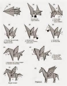 pegasus origami make origami pegasus origami and craft