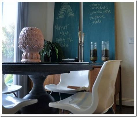 chalkboard paint ideas restaurants renter s solution to a dining room chalkboard wall the