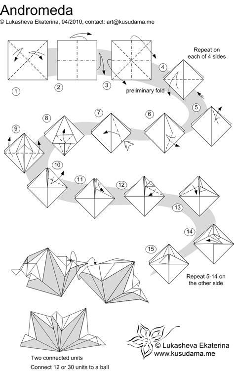 origami modular diagrams 1000 images about origami kusudama on modular