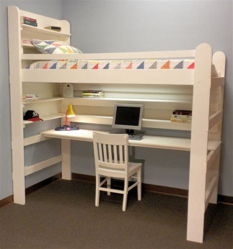 bed with single bunk 45 bunk bed ideas with desks ultimate home ideas