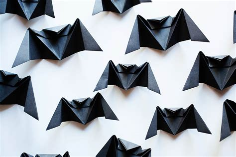 easy origami bat origami bat chandelier all for the boys