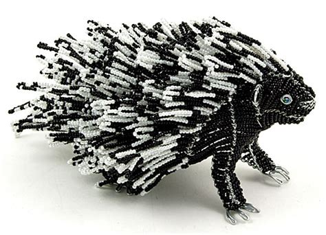 bead and wire animals wow imports beaded wire animal figurine porcupine