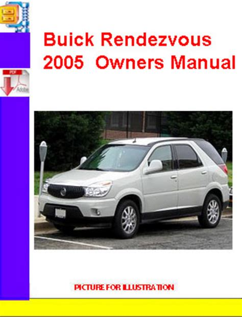 buick rendezvous 2005 owners manual download manuals techn
