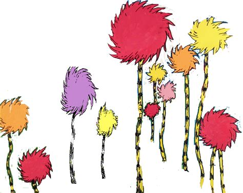 dr suess tree quotes about trees from the lorax quotesgram