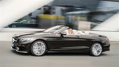 Mercedes S Class Convertible by Refreshed 2018 Mercedes S Class Cabriolet Revealed