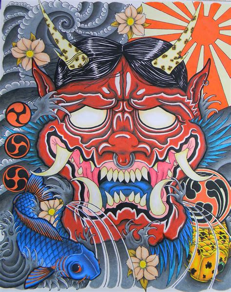image gallery japanese oni art