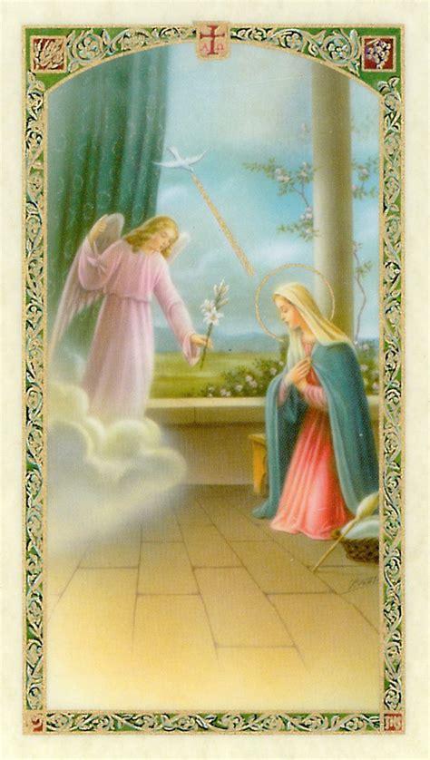 angelus paint gift card el angelus laminated prayer card
