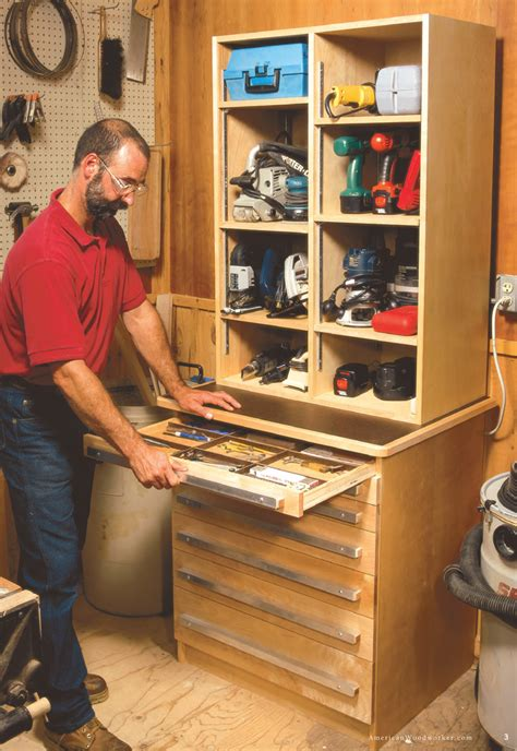 woodworking storage ideas tool cabinet popular woodworking magazine