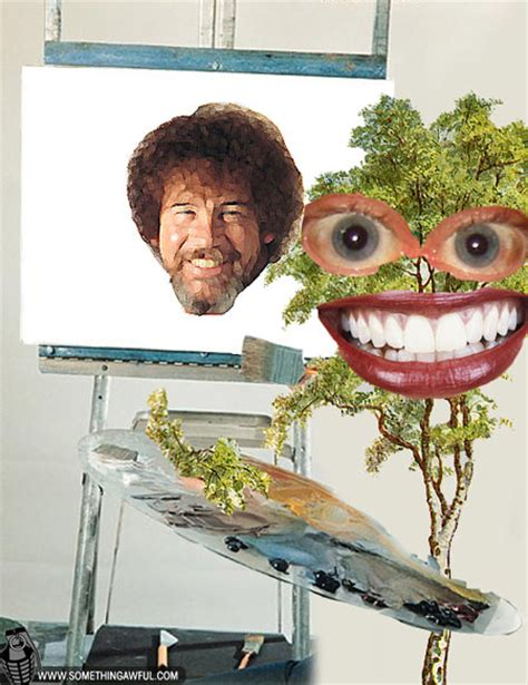 bob ross painting in photoshop the of painting bob ross part 1 of 2