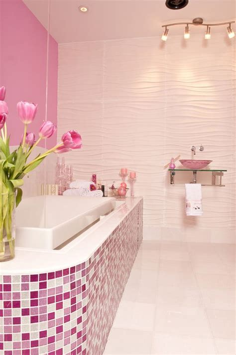 pink bathroom decorating ideas decorating with 80 s style ideas and inspiration